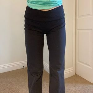 Lululemon Cross Flare Yoga Pants